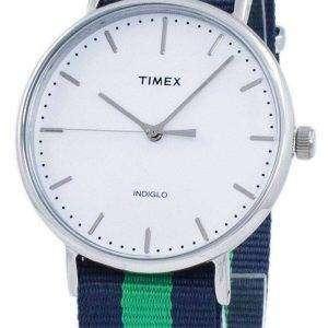 0c47a8a5fe45 Timex Weekender Fairfield Indiglo cuarzo TW2P90800 Watch Unisex