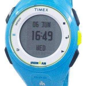 Timex Ironman Run X20 GPS Indiglo Digital TW5K87600 reloj Unisex