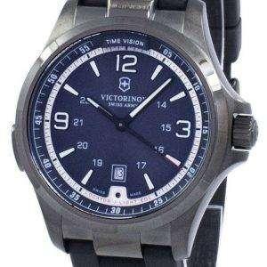 Reloj Victorinox Swiss Army Night visión GMT cuarzo 241596 de los hombres