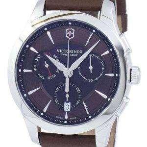 Reloj Victorinox Alliance ejército suizo Cronógrafo cuarzo 241749 hombres