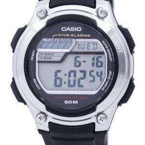38a6b963a3b1 Casio Digital 5 alarmas iluminador W-212H-1AVDF W-212H-1AV reloj