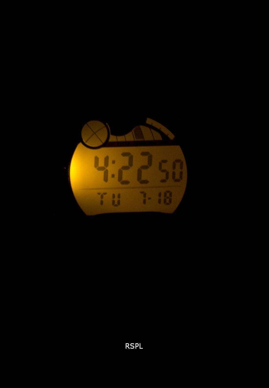 6767d73c8178 Casio Digital deportivo marea gráfico iluminador W-753-3AVDF W-753 ...