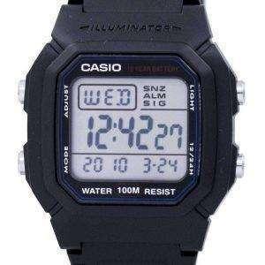Reloj Casio Digital Classic iluminador W-800H-1AVDF W-800H-1AV hombre