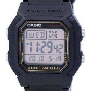 Reloj Casio Digital alarma iluminador W-800HG-9AVDF W-800HG-9AV varonil