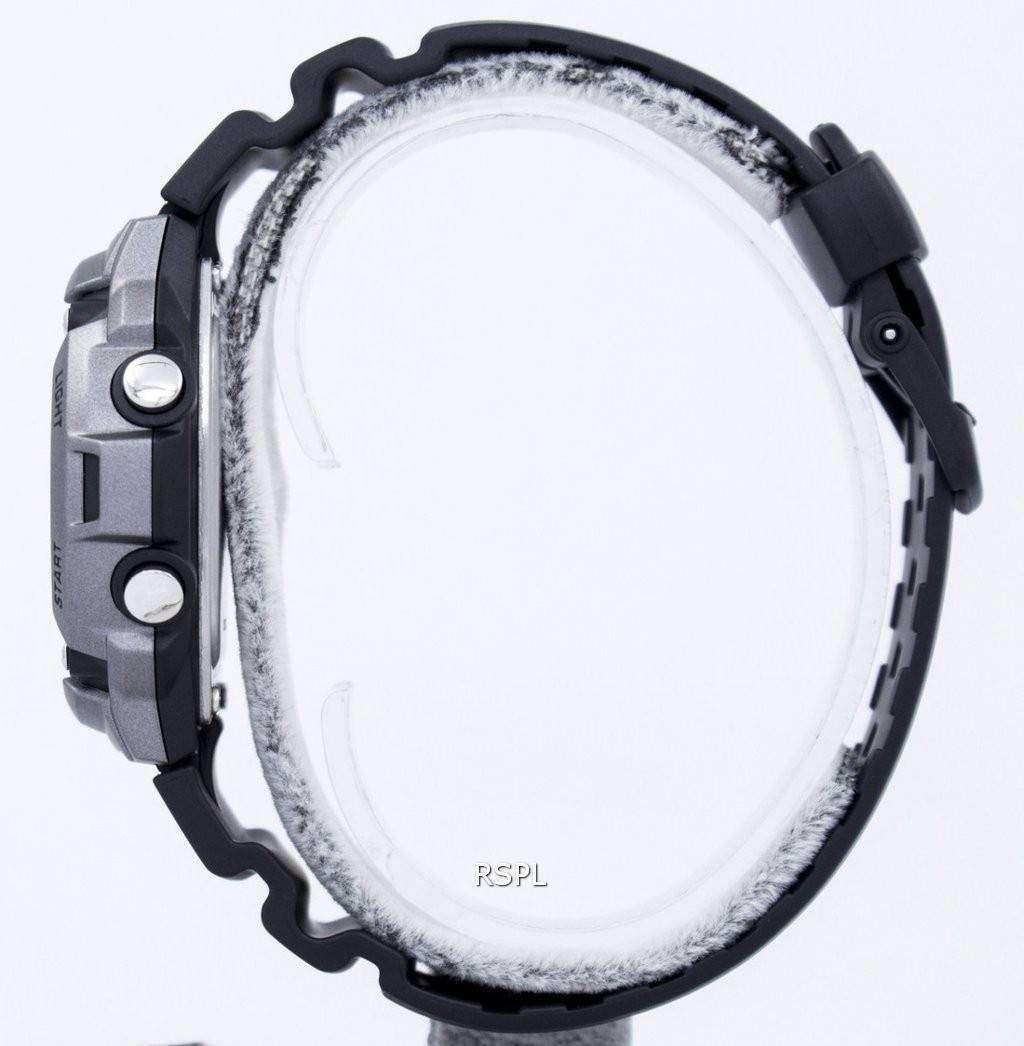 df08c3acc17c Reloj Casio Tough Solar iluminador Lap memoria 120 Digital W-S200H-1AV  hombre