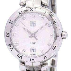Tag Heuer Link pulsera Diamante Dial WAT1311. BA0956 reloj de mujeres