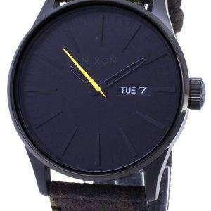 Nixon Sentry A105-3054-00 analógico de cuarzo reloj de Men