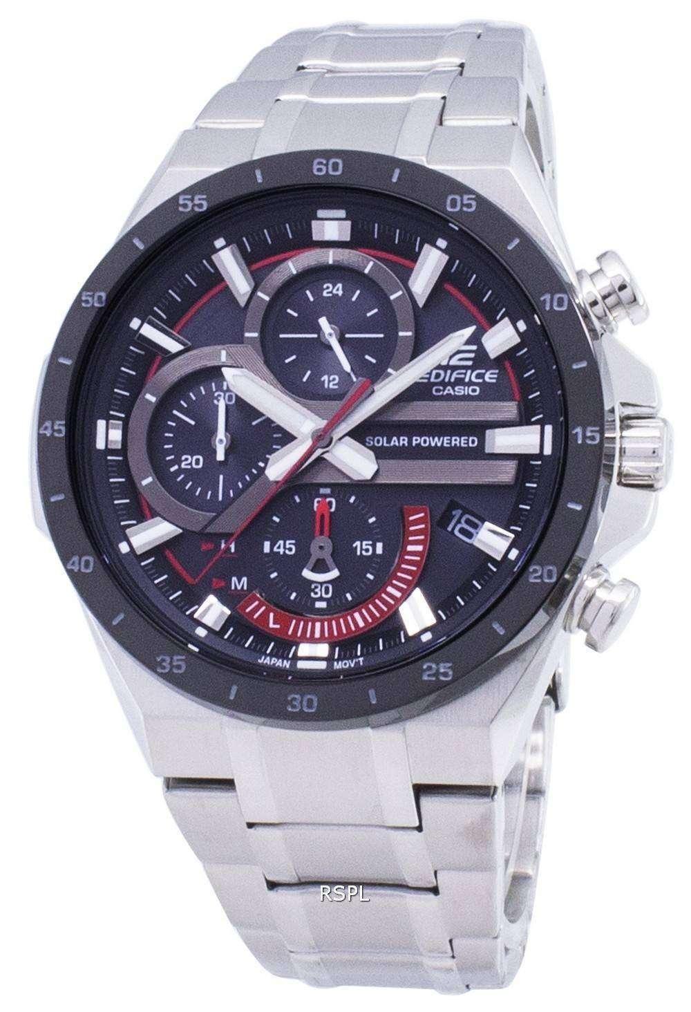 87203a06d65d Reloj Casio Edifice EQS-920DB-1AV EQS920DB1-AV Solar Cronógrafo hombres