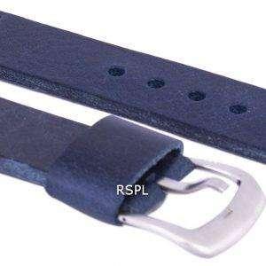 Relación azul marca correa de piel 22mm