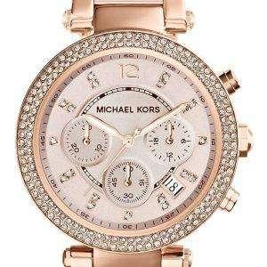 Reloj Michael Kors Parker cristales Swarovski MK5896 femenina