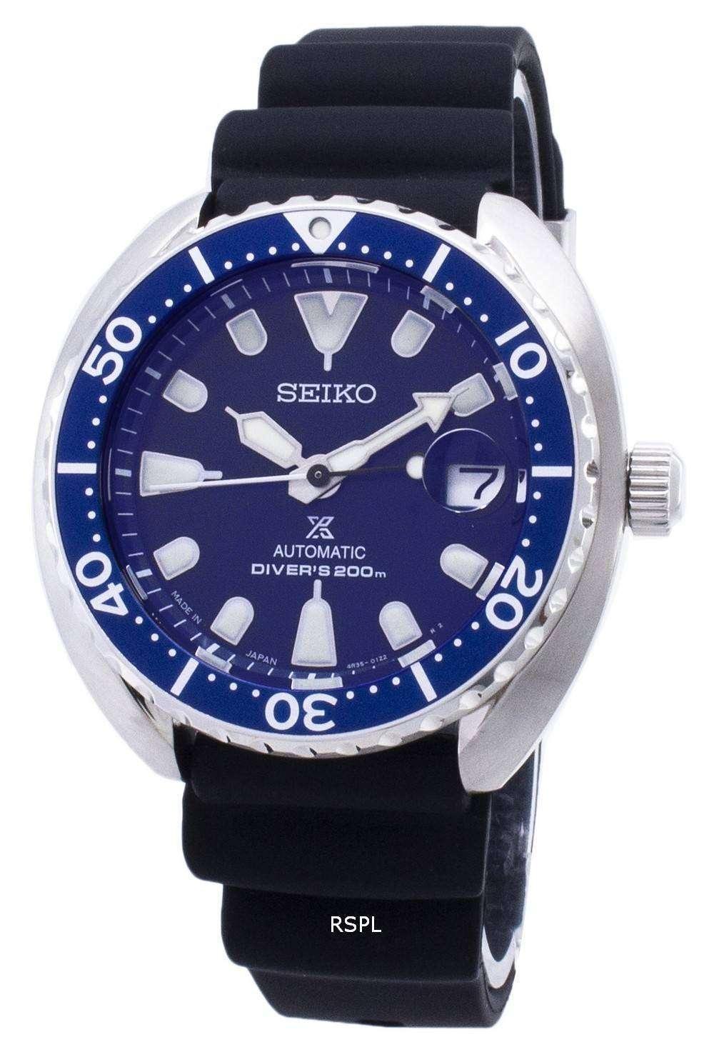 nueva llegada 641a4 0ebc8 200M Japón de Seiko Prospex tortuga Mini Automatic Diver SRPC39J SRPC39J1  SRPC39 Watch de Men
