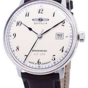 Zeppelin serie LZ129 7046-4 70464 Alemania hizo Watch de Men