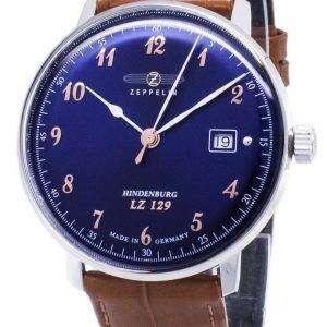 Zeppelin serie LZ129 7048-3 Alemania 70483 hecho Watch de Men