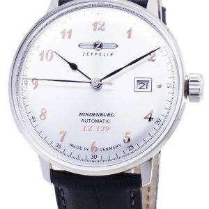Zeppelin serie LZ129 7066-5 70665 automático Alemania hizo Watch de Men