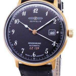 Zeppelin serie LZ129 7068-2 70682 automático Alemania hizo Watch de Men