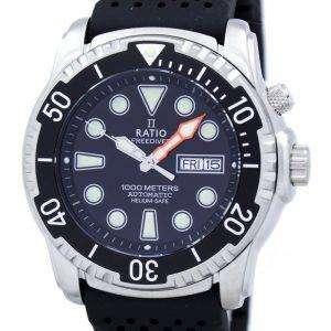Relación II libre reloj Diver 1000M helio-seguro automático 1068HA90-34VA-00 varonil