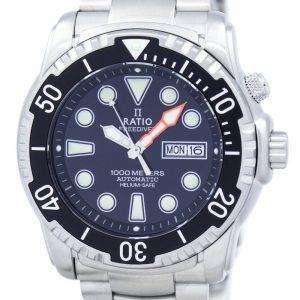 Relación II libre reloj Diver 1000M helio-seguro automático 1068HA96-34VA-00 varonil
