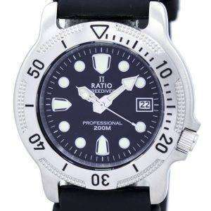 Relación II libre profesional Diver 200M cuarzo 22AD202 Watch de Men