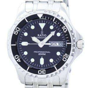 Relación II libre profesional Diver 200M cuarzo 36JL140 Watch de Men