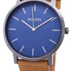 Nixon portero A1058-2854-00 analógico de cuarzo reloj de Men