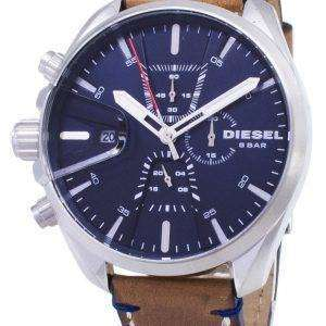 Diesel plazos MS9 cronógrafo de cuarzo DZ4470 Watch de Men