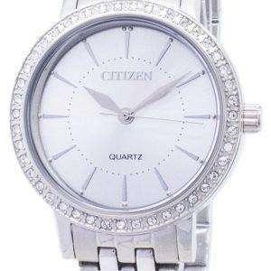 Ciudadano cuarzo EL3040-80A análogo diamante Acentos Watch de Women