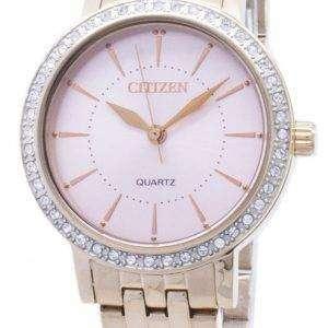 Acentos de diamante Ciudadano cuarzo EL3043-81 X Analog Watch de Women