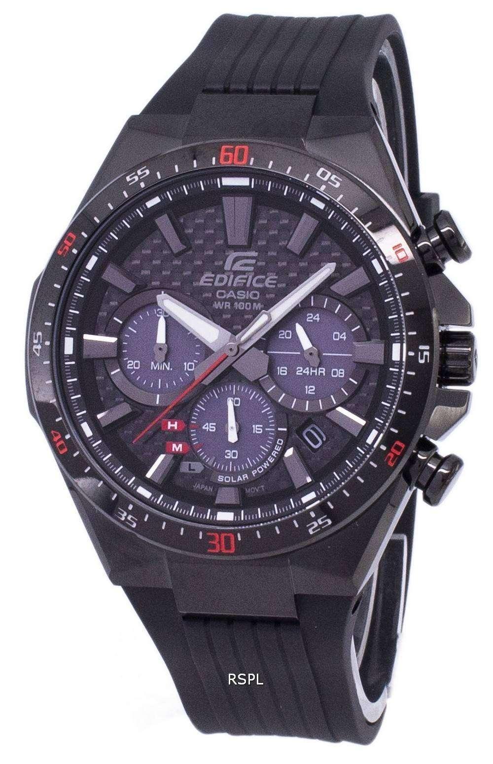 6dc25b2a24e1 Reloj Casio Edifice Solar Cronógrafo EQS-800CPB-1AV EQS800CPB-1AV hombre