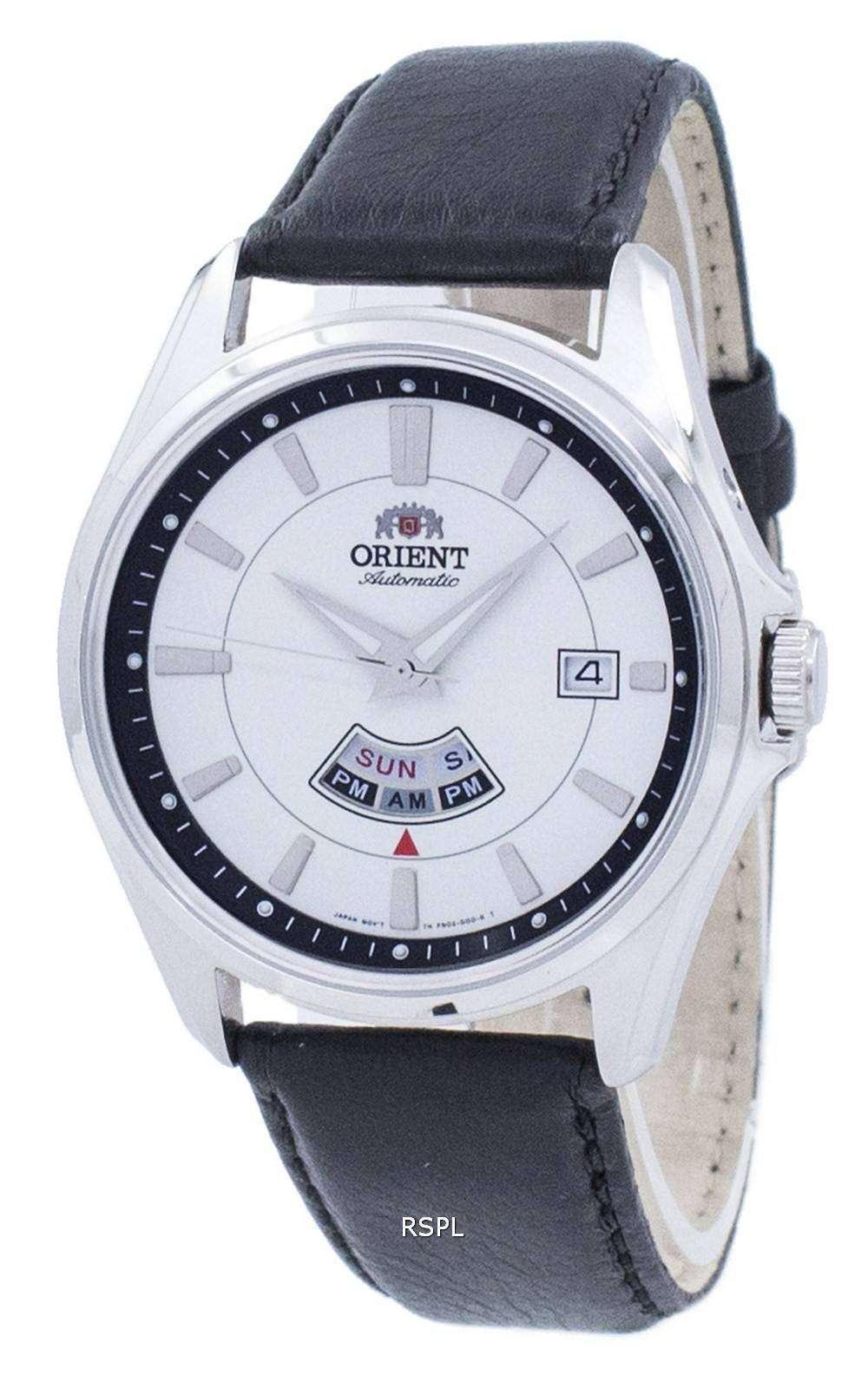 511f39e3959e Oriente clásico 21 joyas automática esfera blanca FN02005W reloj de hombres