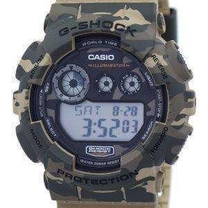 Reloj Casio G-Shock Digital camuflaje serie GD-120CM-5 hombres