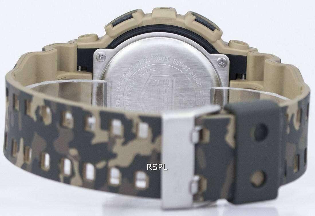 G Shock Camuflaje Serie 5 Gd Hombres Reloj Casio Digital 120cm BxCrdoe