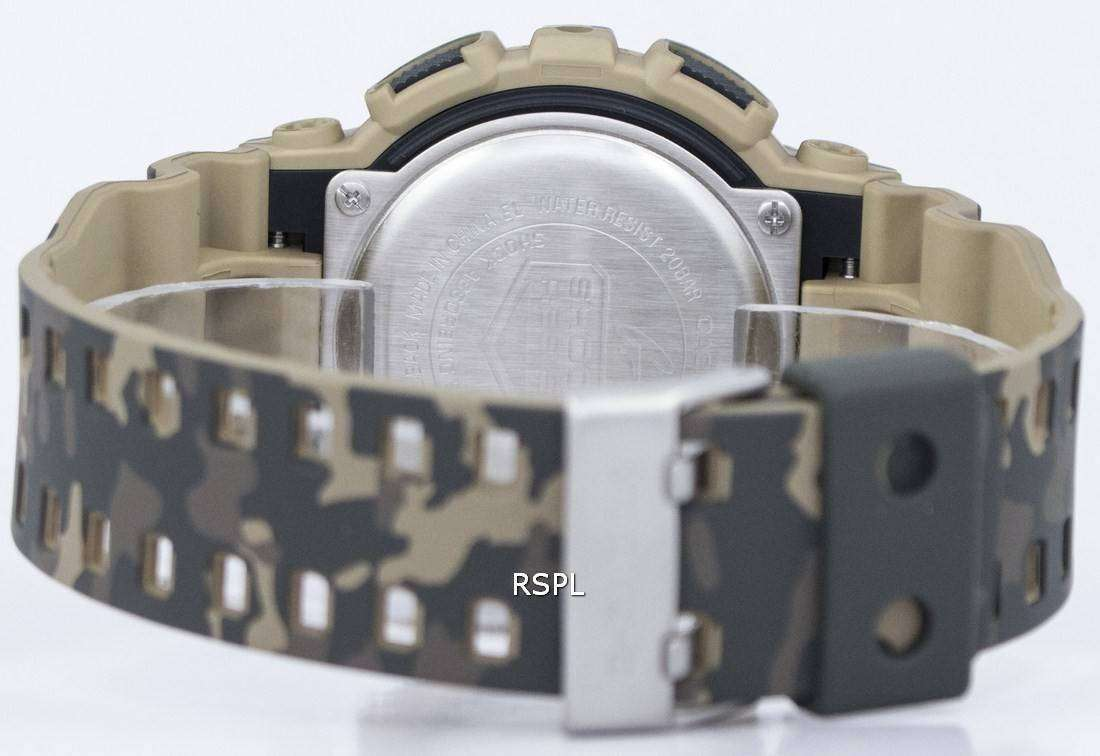 Hombres Digital Camuflaje Gd 5 Casio Shock Serie 120cm Reloj G edxBorC