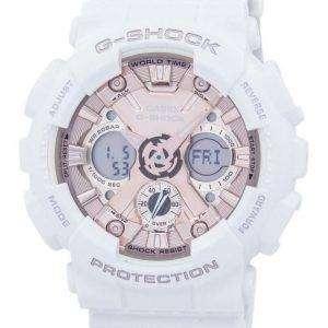Reloj Casio G-Shock a prueba de golpes del mundo tiempo Analógico Digital GMA-S120MF-7A2 de los hombres