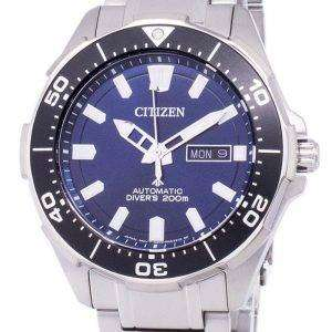 Ciudadano Promaster Marina Scuba Diver 200M automática NY0070 - 83L reloj de Men