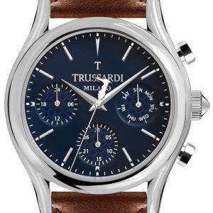 Trussardi T-luz R2451127002 cronógrafo de cuarzo reloj de Men
