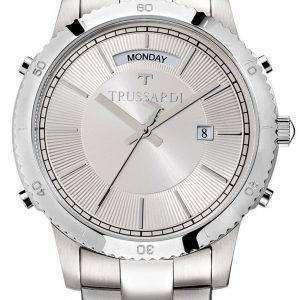 Trussardi estilo T R2453117004 de cuarzo de reloj Men