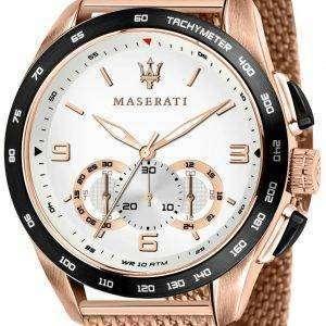 Maserati Traguardo R8873612011 Cronógrafo taquímetro cuarzo de reloj Men