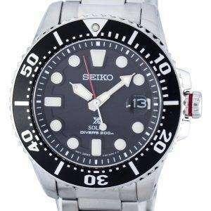 Reloj 200M SNE437 SNE437P1 SNE437P de los hombres de Seiko Prospex Solar Diver