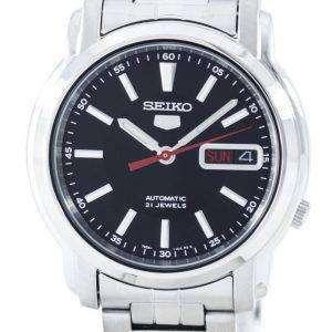 Reloj Seiko 5 automático 21 rubíes SNKL83 SNKL83K1 SNKL83K de los hombres