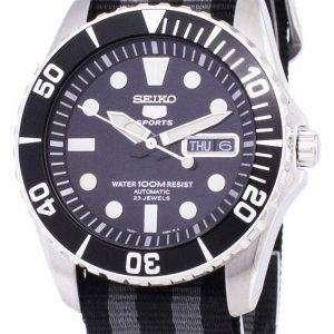 Seiko 5 Sports automático OTAN correa SNZF17K1-NATO1 reloj de hombres