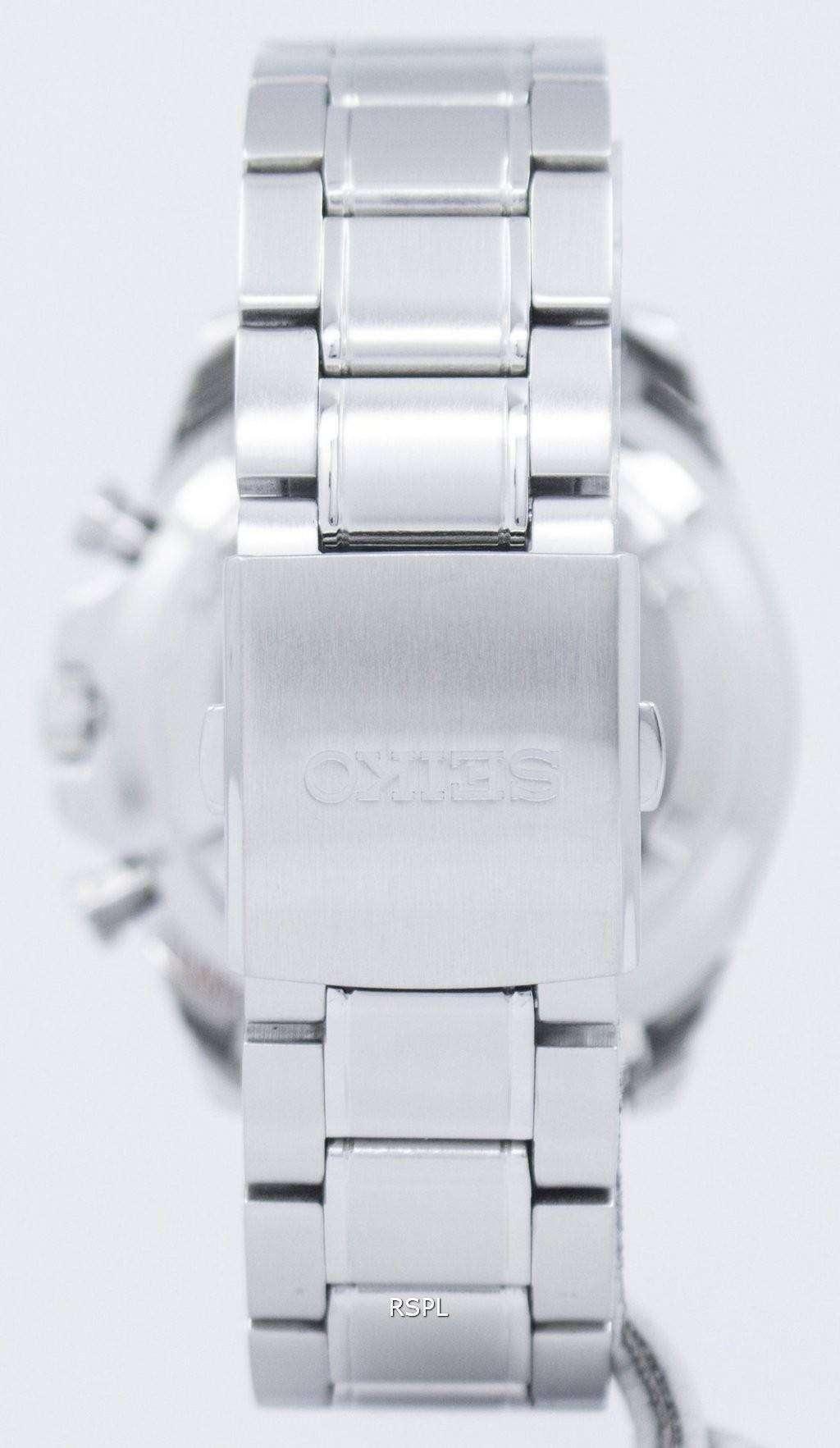 Reloj Seiko deportivo Cronógrafo cuarzo taquímetro SSB299