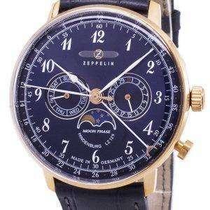 Serie de Zeppelin LZ 129 Hindenburg Alemania hizo 7038-3 70383 Watch de Men