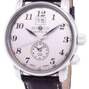 Zeppelin serie LZ127 Graf Alemania hizo 7644-5 76445 Watch de Men