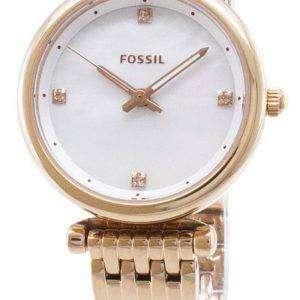 Carlie fósil ES4429 cuarzo analógico reloj de mujer