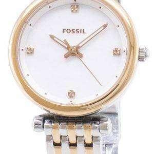 Carlie fósil ES4431 cuarzo analógico reloj de mujer