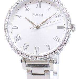 Fósiles Kinsey ES4448 diamante Acentos cuarzo reloj de mujer