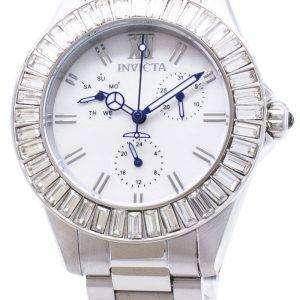 Reloj Invicta Angel 28450 diamante Acentos FeRelojes de hombreil de cuarzo analógico