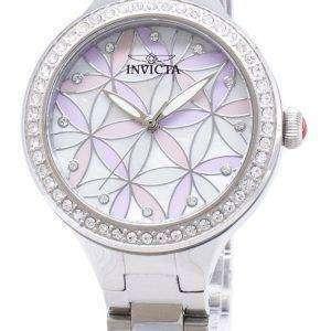 Invicta Wildflower 28823 diamante Acentos cuarzo analógico Relojes de mujer