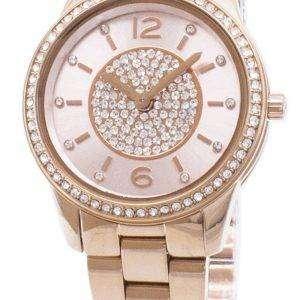 Michael Kors reloj de acentos MK6619 cuarzo analógico de la mujer del diamante