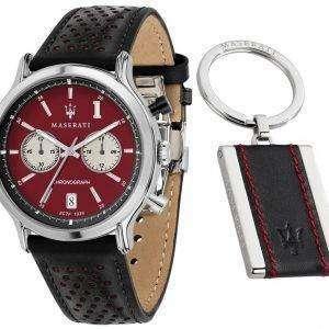 Leyenda de Maserati R8871638002 cronógrafo de cuarzo Relojes de hombre